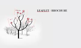 Leaflet / Brochure