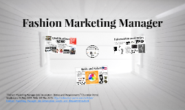 Fashion Business and Managment by LILI Scheer on Prezi