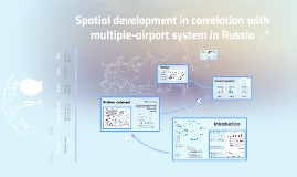Spatial development in correlation with multi-airport system