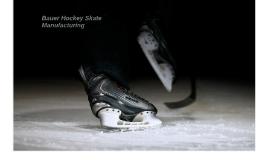 Hockey Skate Manufacturing