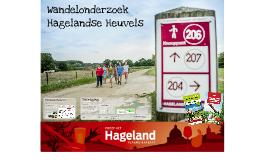 Persvoorstelling Wandelonderzoek Hagelandse Heuvels 2018