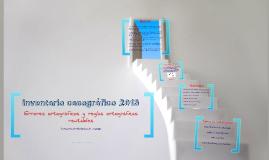 Inventario cacográfico 2013