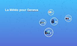 The Weather in Geneva