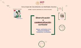 Diversificación y