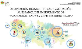 ADAPTACIÓN TRANSCULTURAL Y VALIDACIÓN AL ESPAÑOL DEL INSTRUM