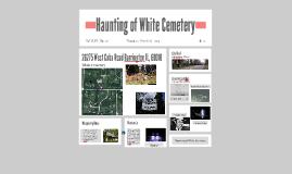 Haunting of White Cemetery