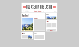 USO ACERTIVO DE LAS TIC