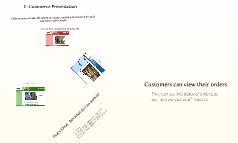 E-Commerce Presentation