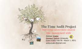 The Time Audit Project