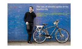 Healthy City Design October 2017
