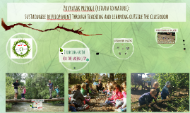 sustainable developement through teaching and learning outside the classroom