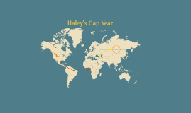 Haley's Gap Year