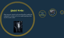 Copy of Copy of Quick Write: