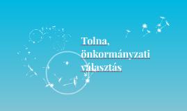 Tolna, önkormányzati választás