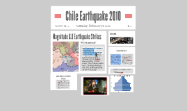 Copy of Chile Earthquake 2010
