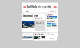 Spanish beaches in the world ranking
