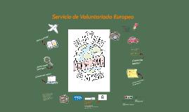 El Servicio de Voluntariado Europeo es un proyecto financiad