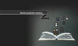 Vector posición relativa