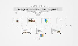 Copy of BOSQUEJO GENERAL LIBRO DE JOSUE