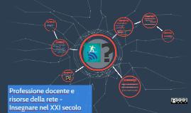 SECONDARIA - Professione docente e risorse della rete -