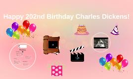 Happy 202nd Birthday Charles Dickens!