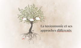 La toxicomanie et ses approches differents