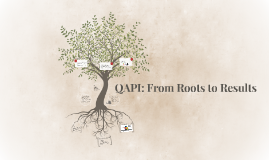 QAPI: From Roots to Results