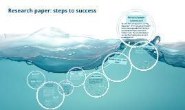 Research paper:steps to success