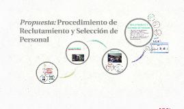 Propuesta Final de Proceso de Selección de Colaboradores