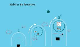 7 Habits PWD: Habit One
