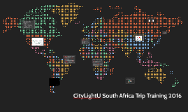 CityLight U South Africa Training