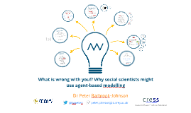 What is wrong with you!? Why social scientists might use agent-based modelling
