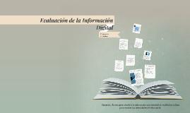 Copy of Evaluación de la Información Digital