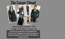 The Career Closet
