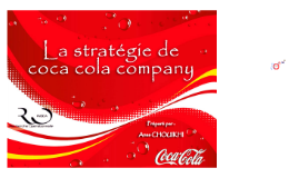 Copy of Le business plan de Coca Cola company