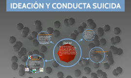 IDEACIÓN Y CONDUCTA SUICIDA