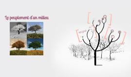 Copy of Peuplement d'un milieu au cours des saisons