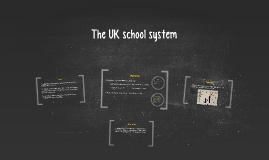 The UK school system