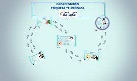 CAPACITACION ETIQUETA TELEFÓNICA