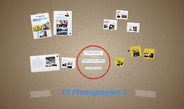 10 Photographer's