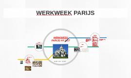 WERKWEEK PARIJS