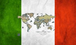 Country of Origin ~ Italy
