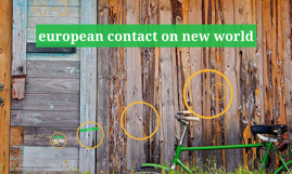 european contact on new world