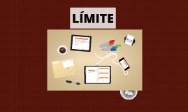 Copy of LÍMITE