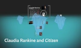 Claudia Rankine and Citizen