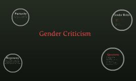 Gender Notes