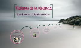Victimas de la violencia