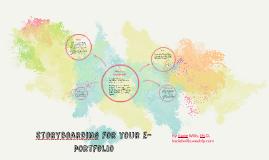 Storyboarding for your eportfolio