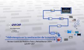 """""""Hidroterapia en la reeducacion de la marcha"""""""