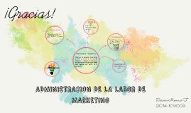 Copy of ADMINISTRACION DE LA LABOR DE MARKETING